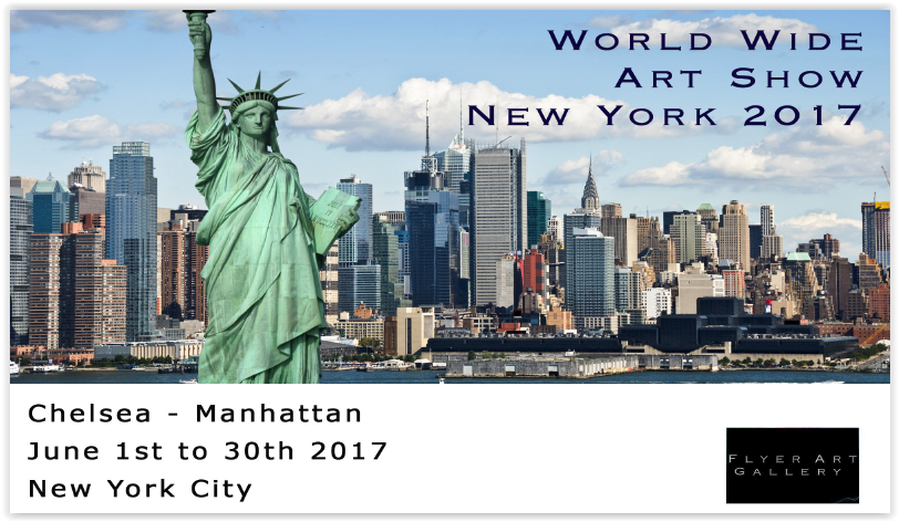 NYC 2017 World wide art show