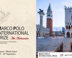 Gisela Zimmermann Presentation International Prize Marco Polo Art Ambassador